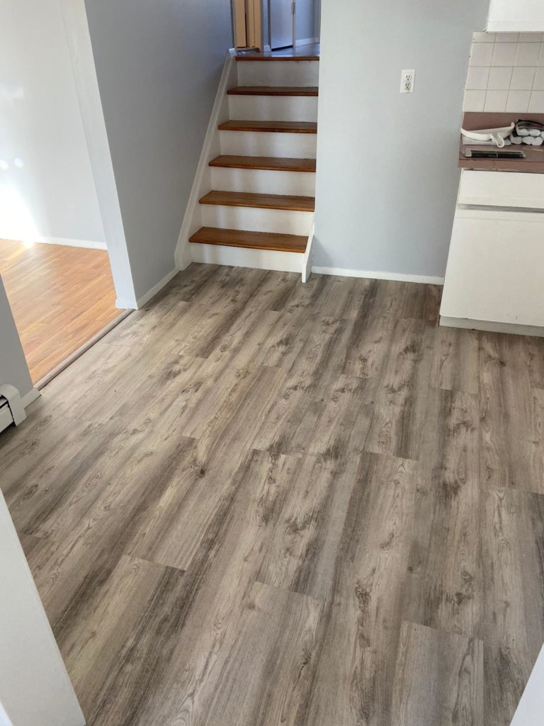 Garden City wood floor