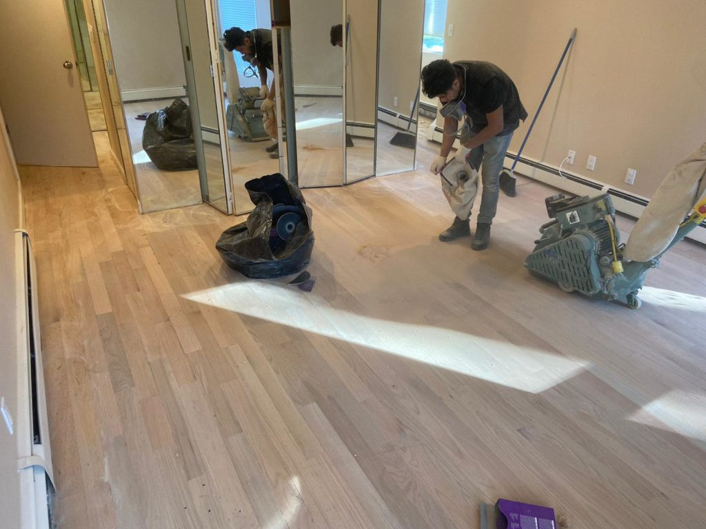 Franklin Square wood floor Project long island